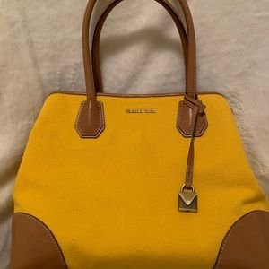 Michael Kors yellow purse